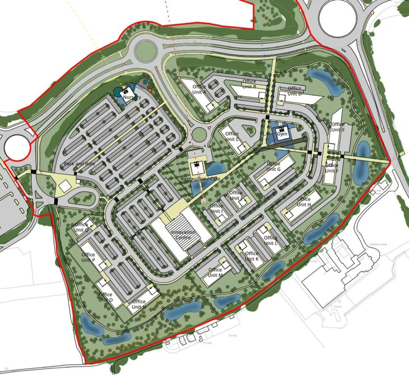 naburn-emplyment-park-masterplan-2018-dla-design-aspect-ratio-825-755